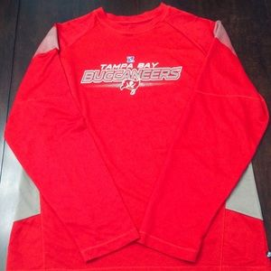 Tampa Bay Buccaneers Long Sleeve Polyester T-Shirt